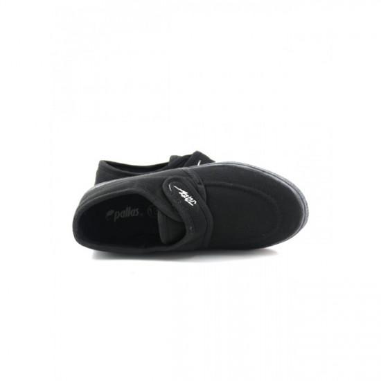 Pallas School Shoes - 204-031 BK (Black)