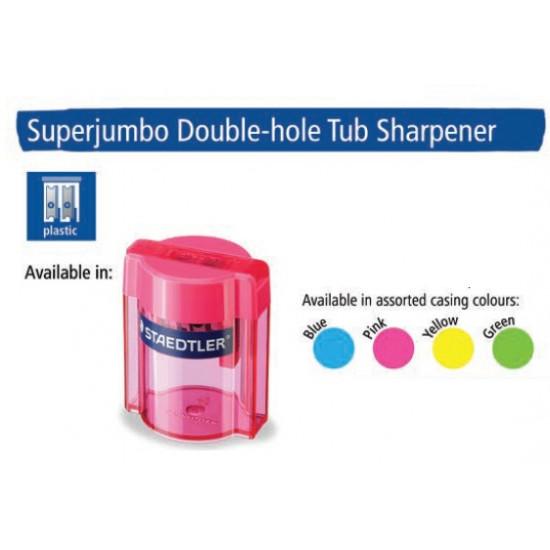 Superjumbo Doublehole Tub Sharpener Assorted