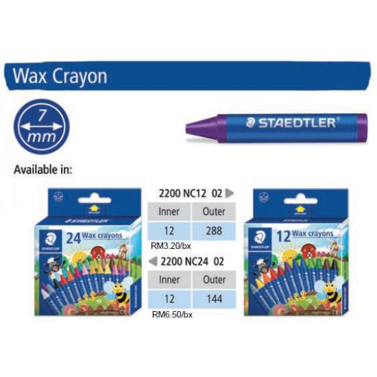 Wax Crayon - 12 Colours