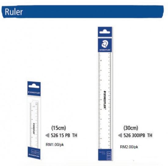 Plastic Ruler 30cm in PB