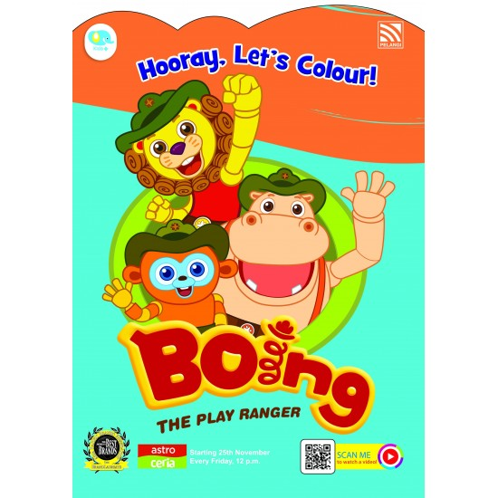 Boing The Play Ranger - Hooray, Let's Colour !