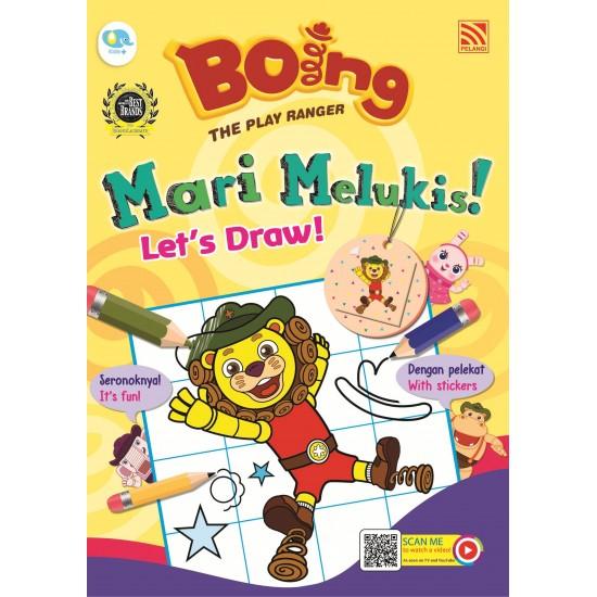Boing The Play Ranger - Let's Draw!Mari Melukis!