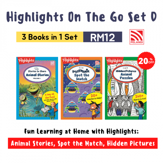 Highlights On The Go Set (3 in 1)