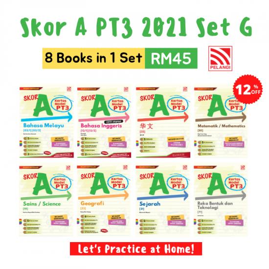 Skor A PT3 2021 Set (8 in 1)