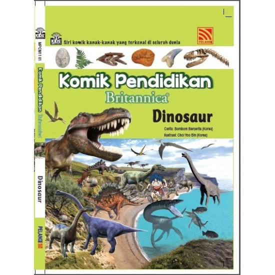Komik Pendidikan Britannica : Dinosaur