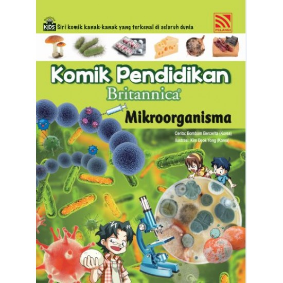 Komik Pendidikan Britannica : Mikroorganisma
