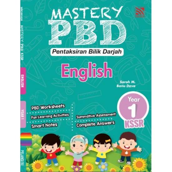Mastery PBD English Year 1