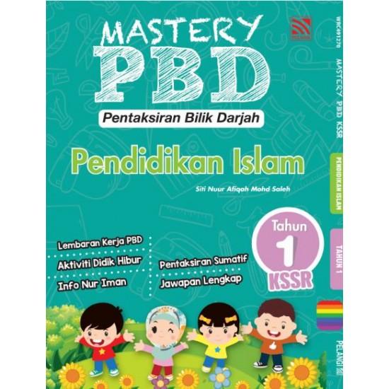 Mastery PBD Pendidikan Islam Tahun 1