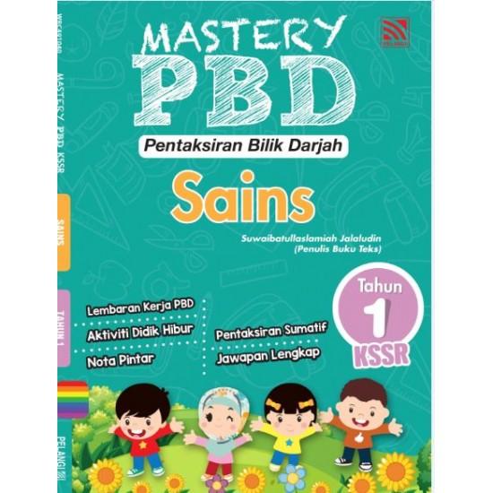 Mastery PBD Sains Tahun 1