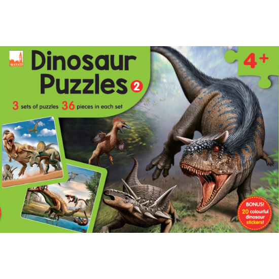 Dinosaur Puzzles - Puzzle 2