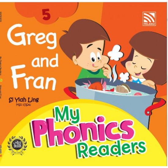My Phonics Readers - Greg and Fran