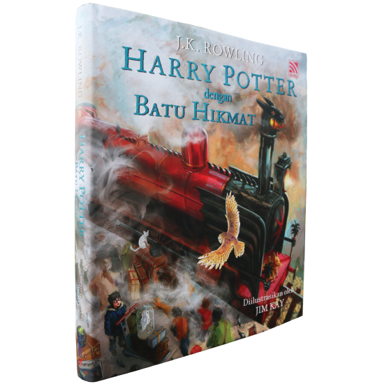 HARRY POTTER DENGAN BATU HIKMAT (HARDCOVER)