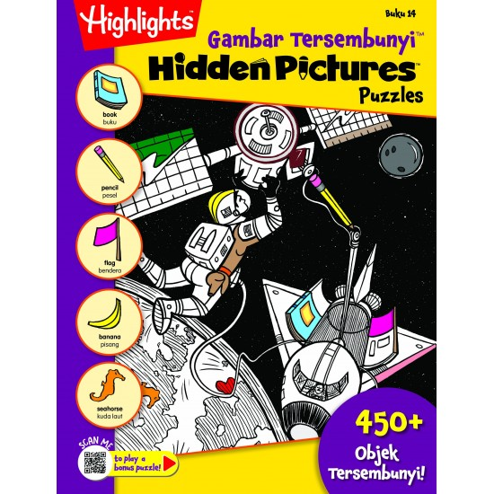 Highlights Hidden Pictures Puzzles (Eng/BM) - Hidden Pictures Puzzles 14(BI-BM)