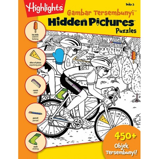 Highlights Hidden Pictures Puzzles (Eng/BM) - Hidden Pictures Puzzles 3(BI-BM)