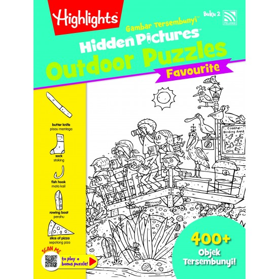 Highlights Hidden Pictures Outdoor Puzzles Vol. 2 (Eng/BM)