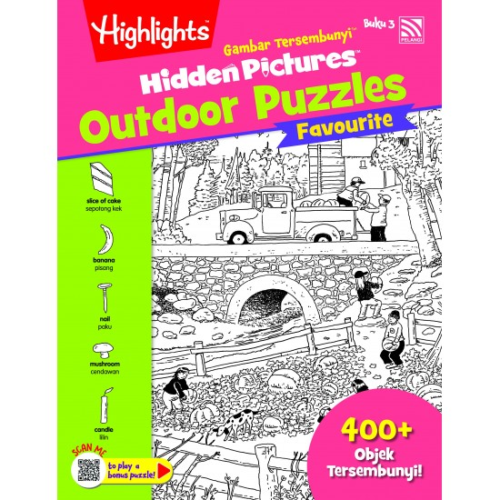 Highlights Hidden Pictures Outdoor Puzzles Vol. 3 (Eng/BM)