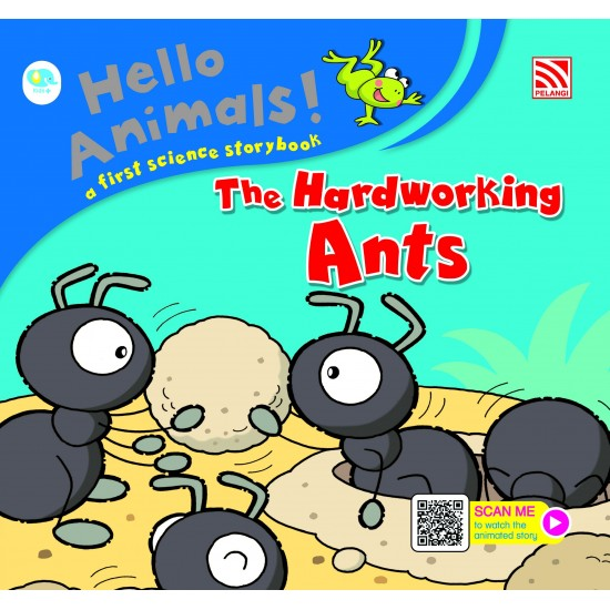 Hello Animals with Animation - The Hardworking Ants