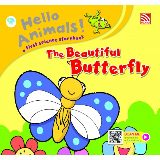 Hello Animals with Animation - The Beautiful Butterfly