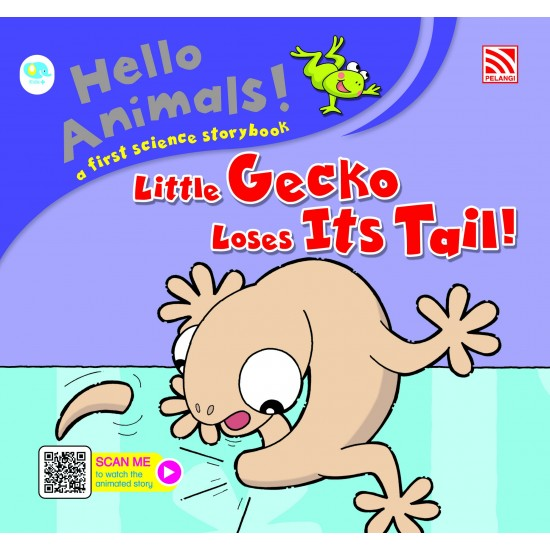 Hello Animals with Animation - Little Gecko Loses Its Tails