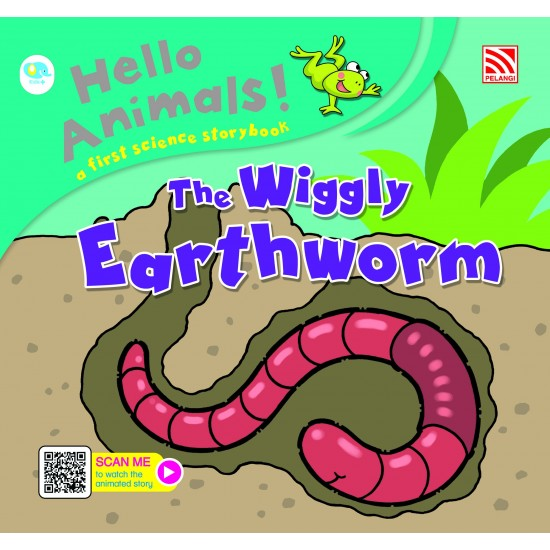 Hello Animals with Animation - The Wiggly Earthworm