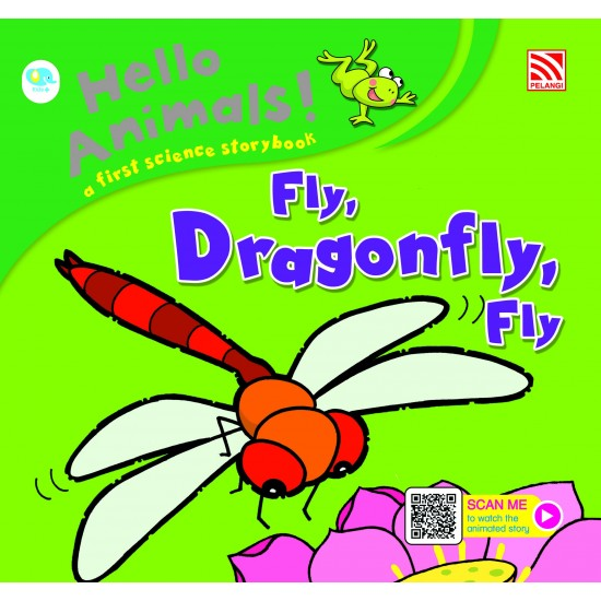 Hello Animals with Animation - Fly, Dragonfly,Fly