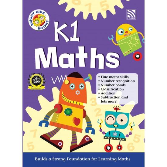 BRIGHT KIDS BOOKS - K1 MATHS