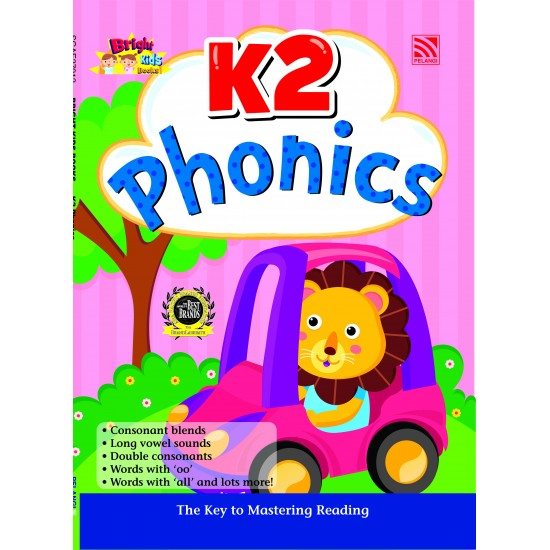 Bright Kids Books - K2 Phonics (2019)