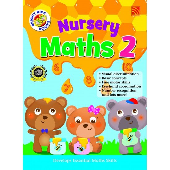 Bright Kids Books- Nursery Maths 2 (BI)