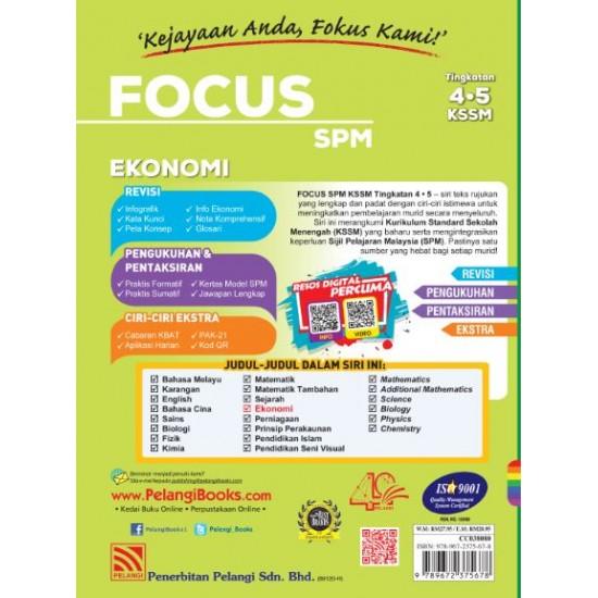 Focus SPM 2020 Ekonomi