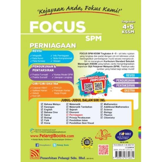 Focus SPM 2020 Perniagaan