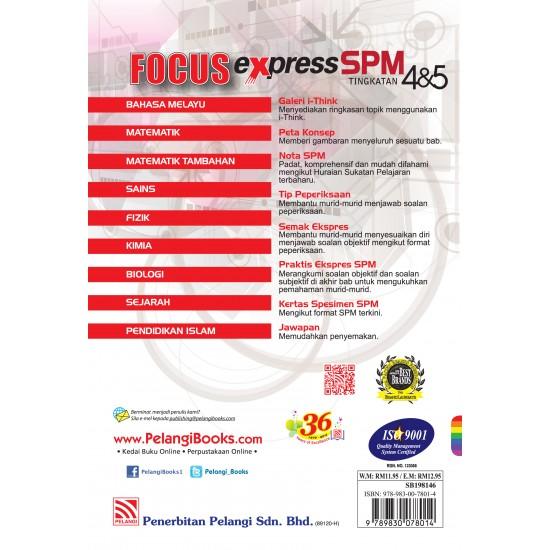 Focus Express SPM 2016 Biologi