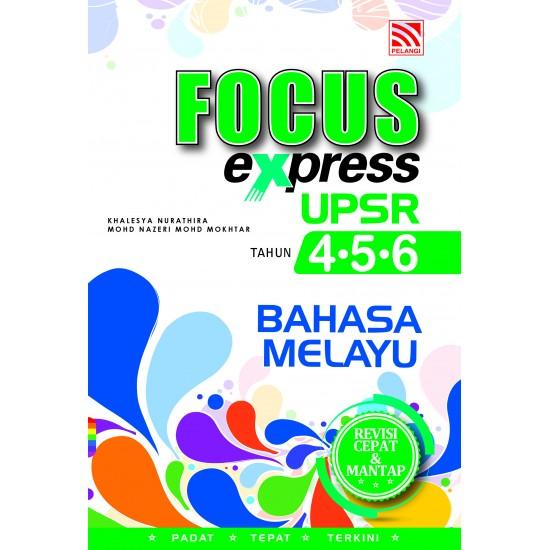 Focus Express UPSR 2018 Bahasa Melayu