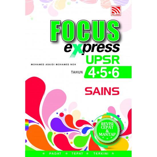 FOCUS EXPRESS UPSR 2018 SAINS