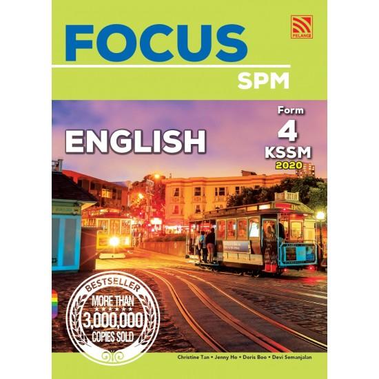 Focus SPM 2020 English Form 4