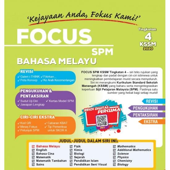 Focus KSSM 2020 Bahasa Melayu Tg 4