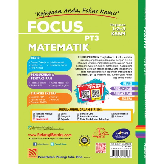 Focus PT3 2020 Matematik ( BM Version )