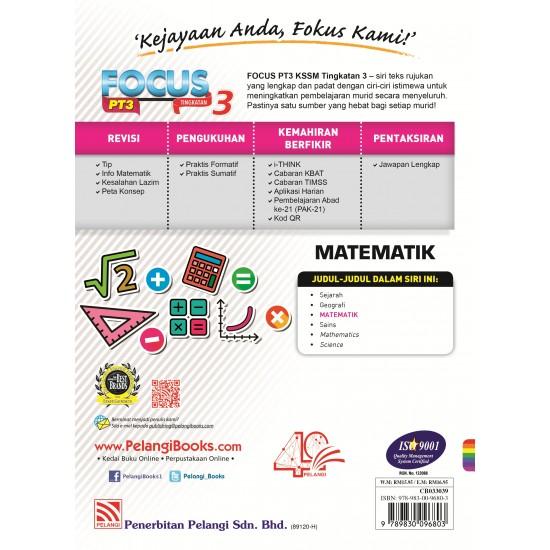 Focus PT3 2019 Matematik Tg 3