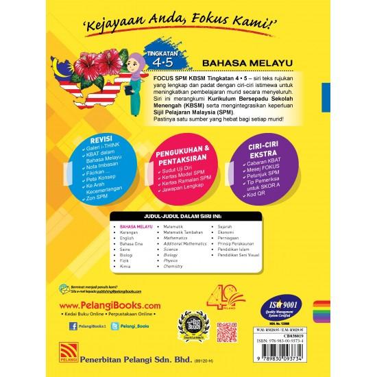 Focus SPM Bahasa Malaysia