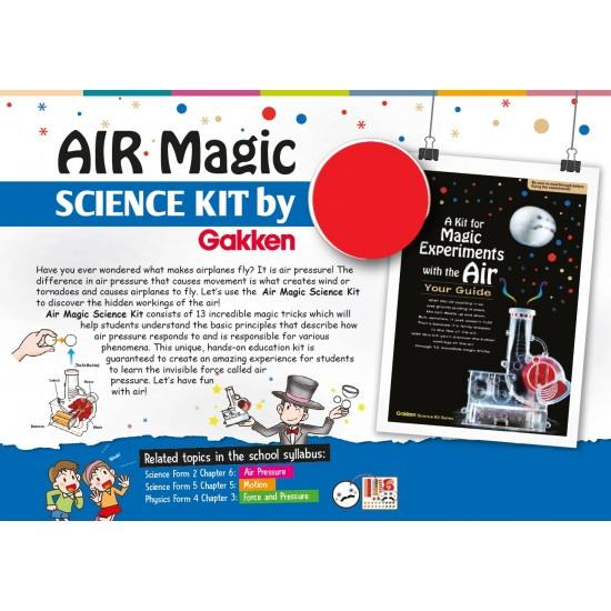 Gakken Air Experiment Kits