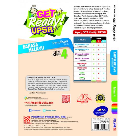 Get Ready 2020 Bahasa Melayu Penulisan Thn 4