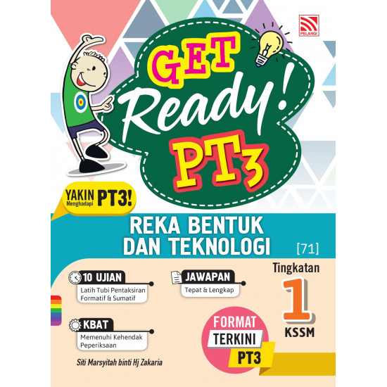 Get Ready! PT3 Reka Bentuk Teknologi Tg 1