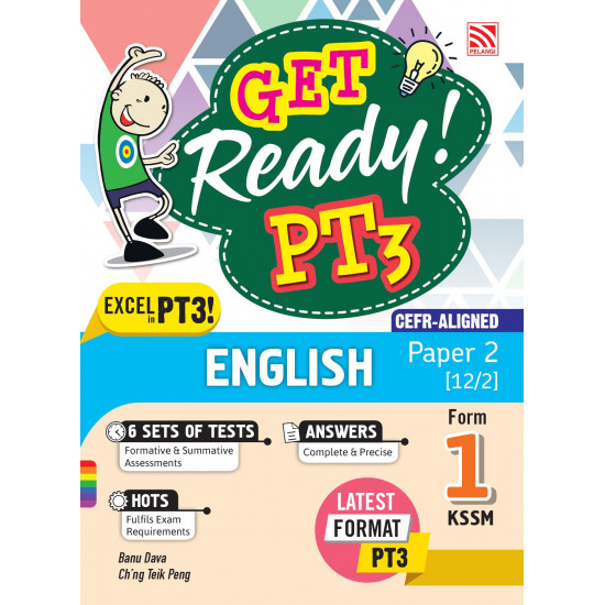 Get Ready! PT3 English Form 1 (Paper 2)