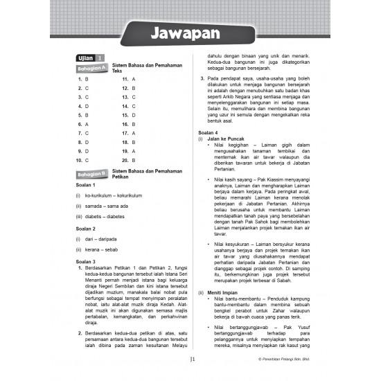 Get Ready! PT3 Tingkatan 2 Bahasa Melayu (Kertas 1)