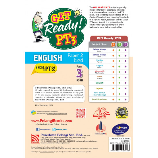 Get Ready! PT3 English Form 3 (Paper 2)