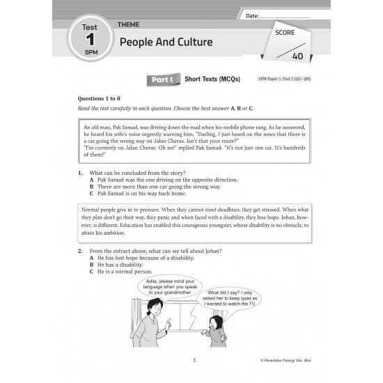 Get Ready SPM 2022 Form 5 English
