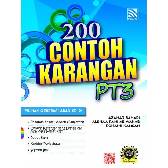 200 Contoh Karangan PT3 2017 Bahasa Melayu