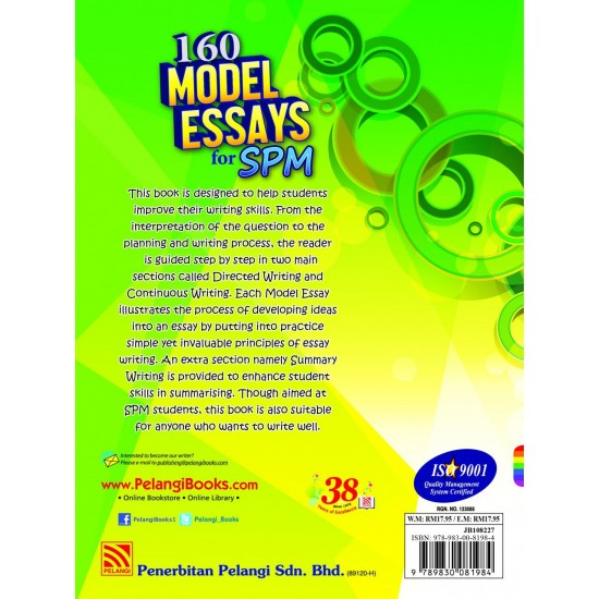 160 Model Essays SPM 2017 English