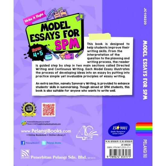 Write It Right! Model Essays for SPM