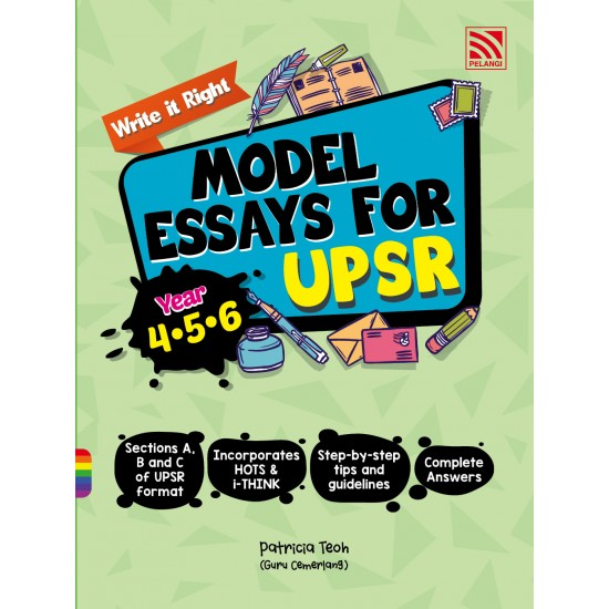 Write It Right! Model Essays for UPSR