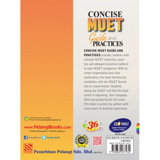 Concise Muet Guide and Practices